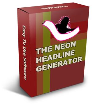 TheNeonHeadline Generator