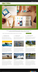 omaterra wordpress theme