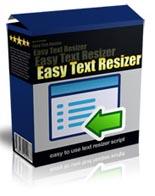 EasyTextResizer