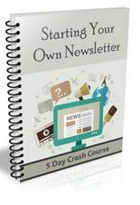 Start your own newsletter...